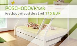 Poschodové postele od 170 eur
